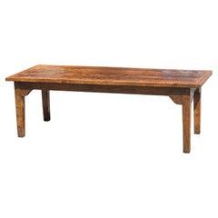 English 18th Century Farmhouse Dining Table