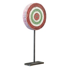 English 1920s Fun Fair Mounted Darts Target