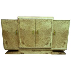 English 1930s Art Deco Sideboard by Harry & Lou Epstein Brothers