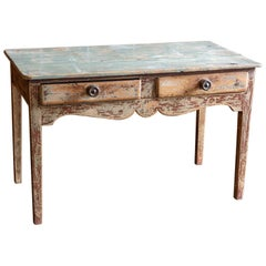 English 19th Century Country Pine Side Table