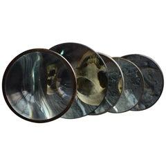 English 19th Century Magic Lantern Lens Set