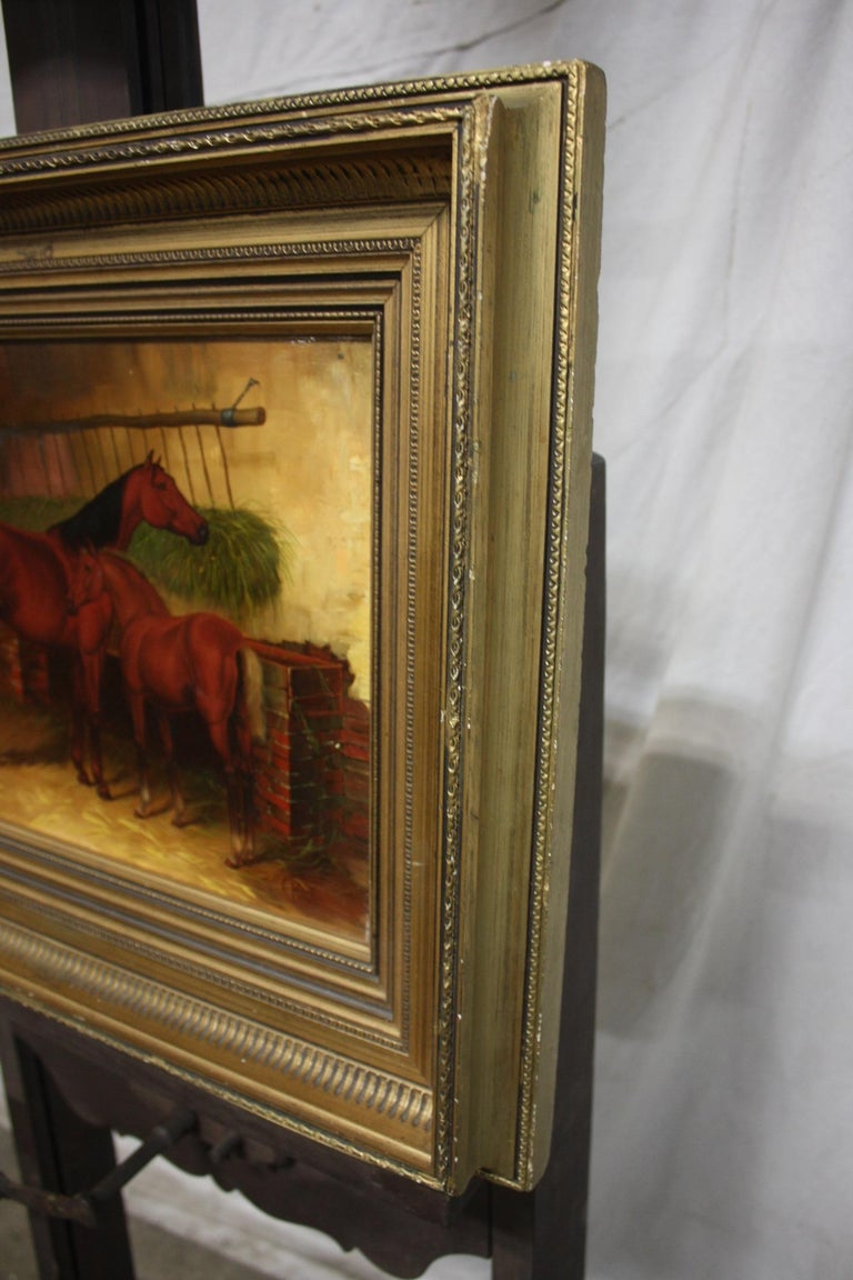 English 19th Century Oil Painting For Sale 1