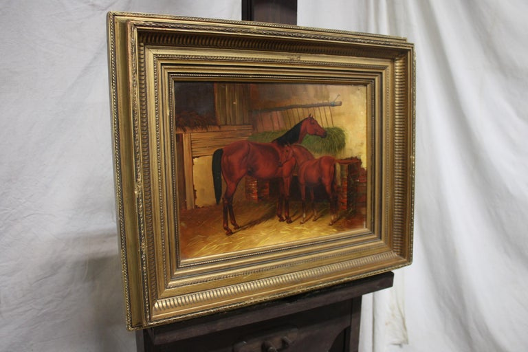 English 19th Century Oil Painting For Sale 2
