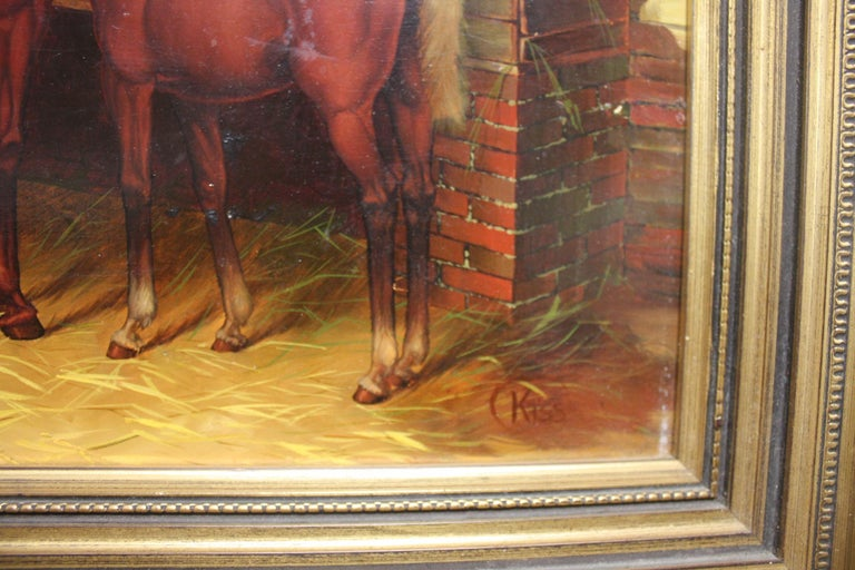 English 19th Century Oil Painting For Sale 4