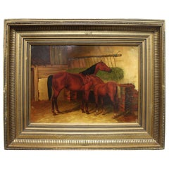 English 19th Century Oil Painting