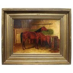 English 19th Century Oil Painting