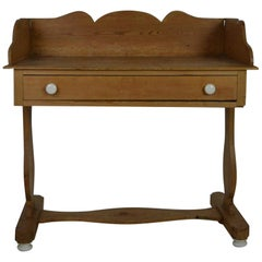 English 19th Century Pine Washstand