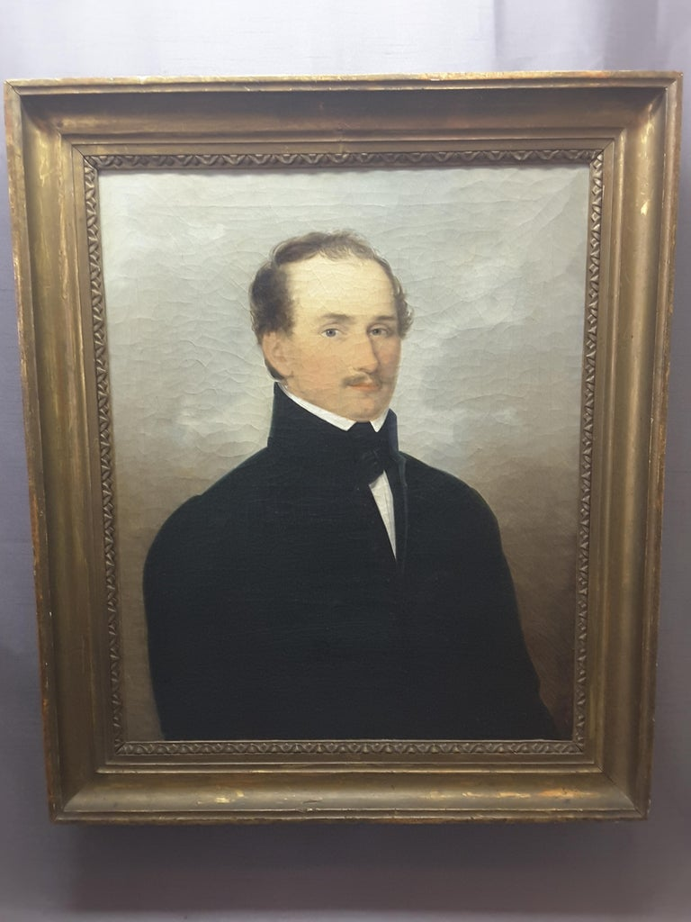 English 19th Century Portrait of a Gentleman For Sale 5