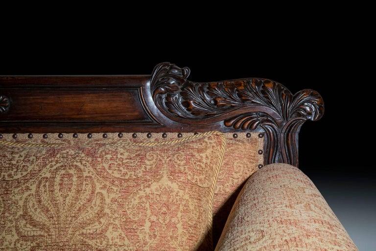 Regency English 19th Century Antique Sofa