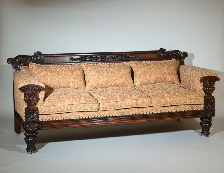 English 19th Century Antique Sofa In Good Condition In London, GB