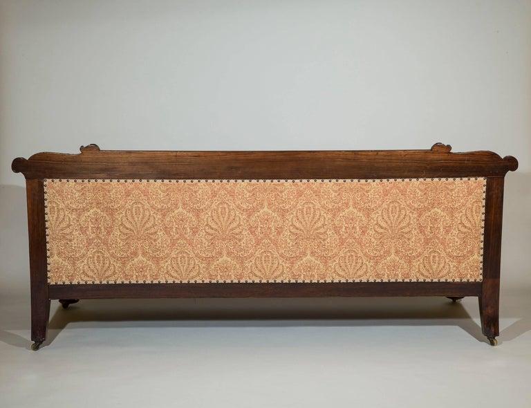 Wood English 19th Century Antique Sofa