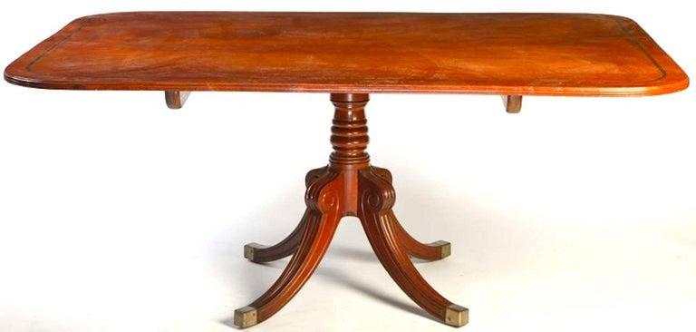 English 19th Century Regency Mahogany Breakfast Table For Sale 7