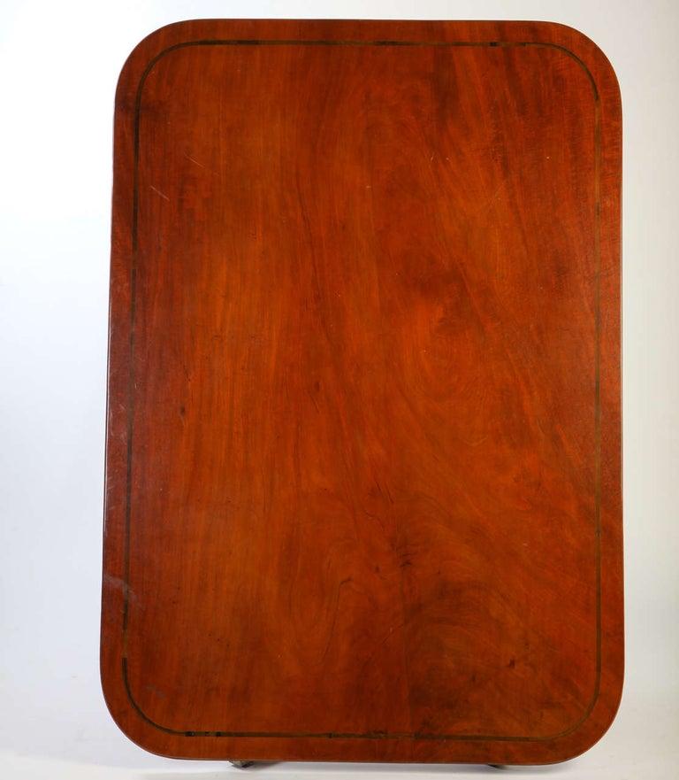 English 19th Century Regency Mahogany Breakfast Table For Sale 3