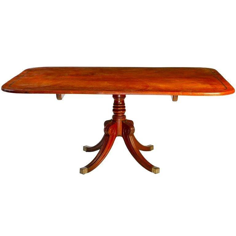 English 19th Century Regency Mahogany Breakfast Table For Sale