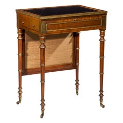 English 19th Century Regency Small Table or Desk