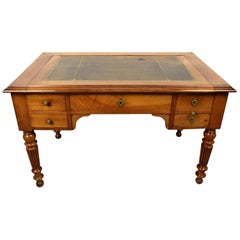 English 19th Century Walnut Desk