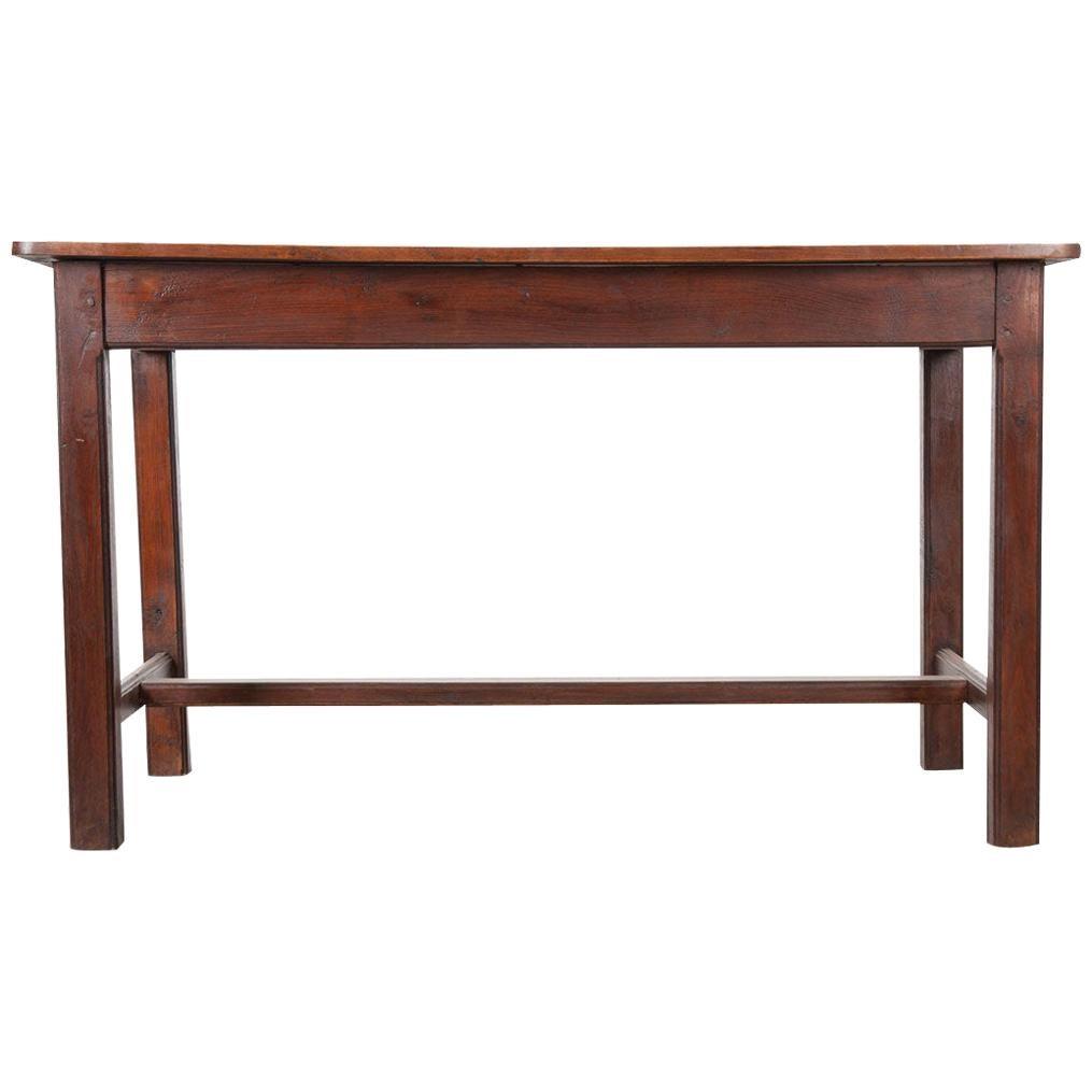 English 19th Century Wooden Kitchen Counter