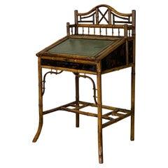English Aesthetic Movement Bamboo Desk
