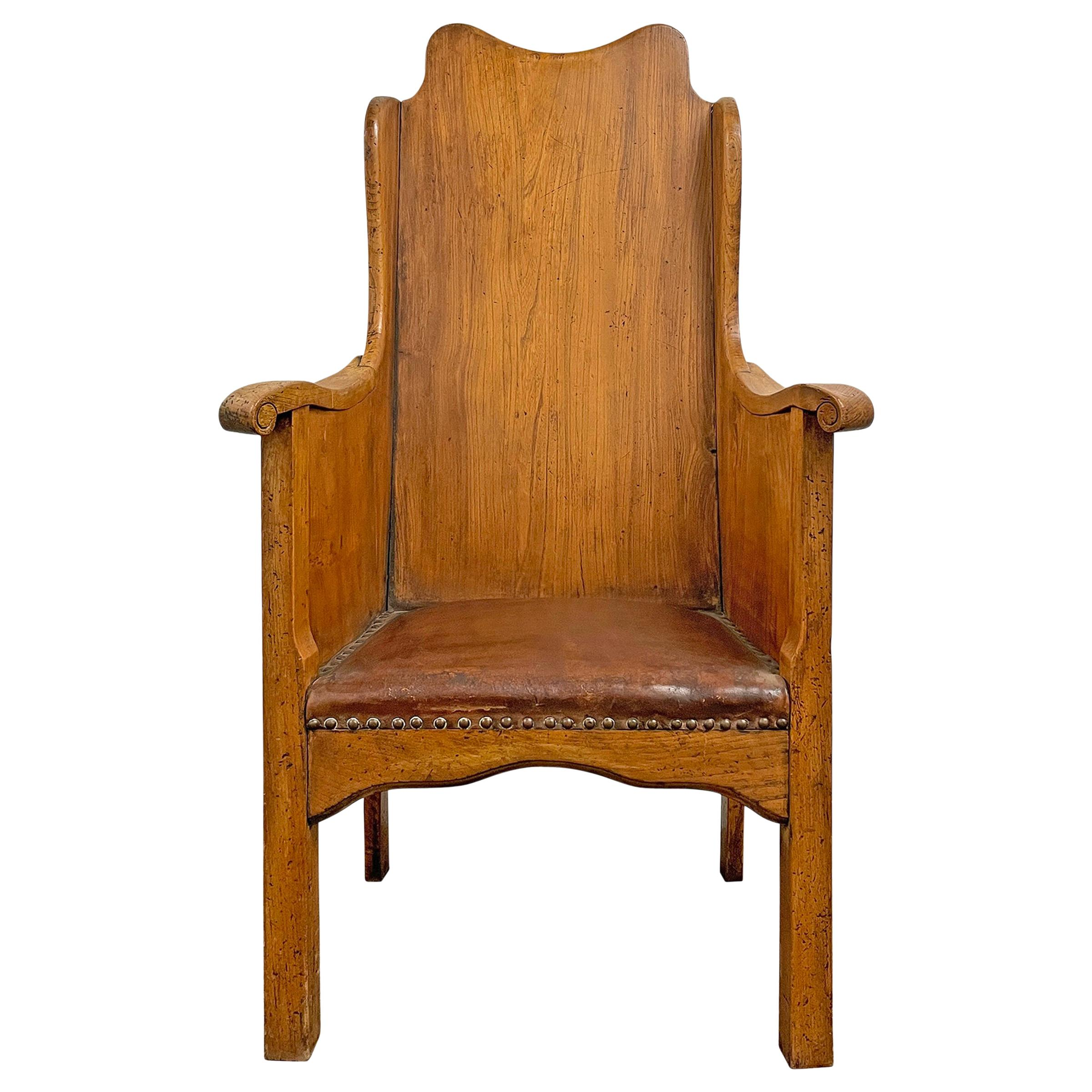 English Arts & Crafts Hall Chair
