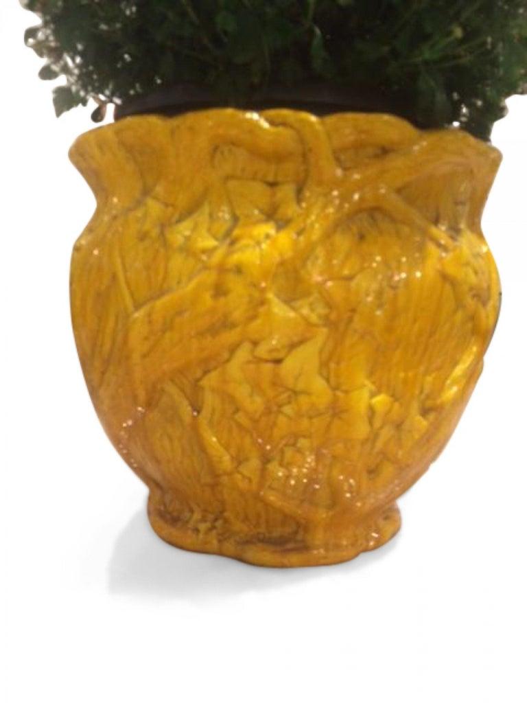 British English Arts & Crafts Porcelain Minton Pot For Sale