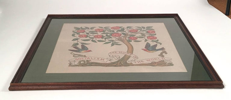 Socialism is the Hope of the World Banner, English. circa 1890 For Sale 4