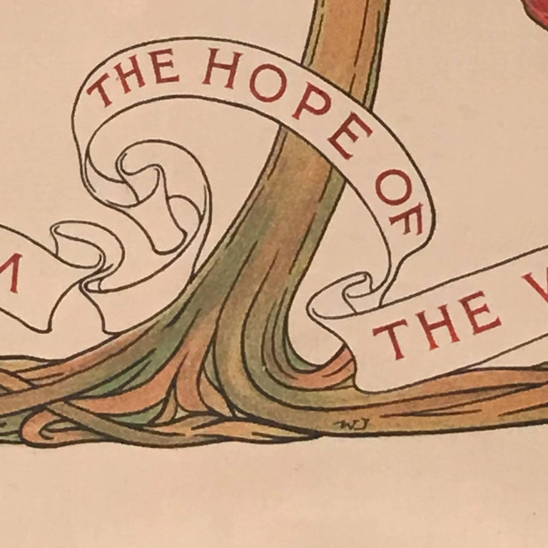 Cotton Socialism is the Hope of the World Banner, English. circa 1890 For Sale