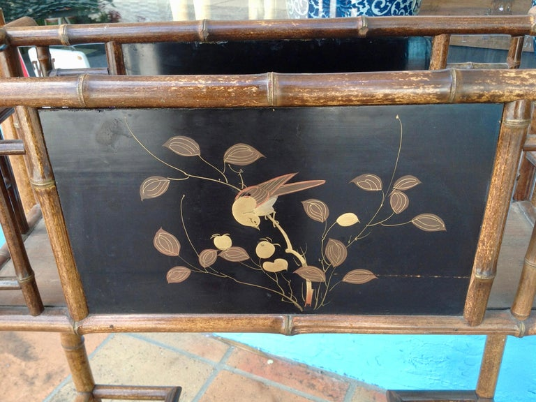 English Bamboo Planter For Sale 5