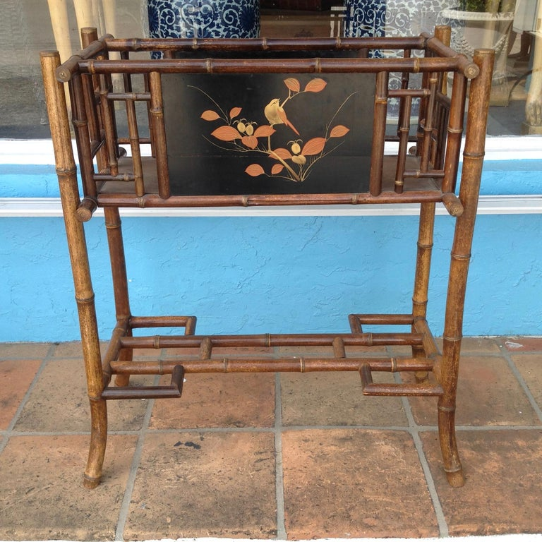 English Bamboo Planter For Sale 6
