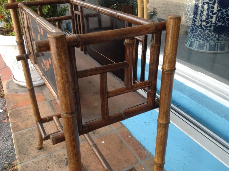 English Bamboo Planter For Sale 8