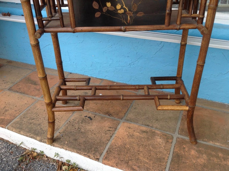 English Bamboo Planter For Sale 2