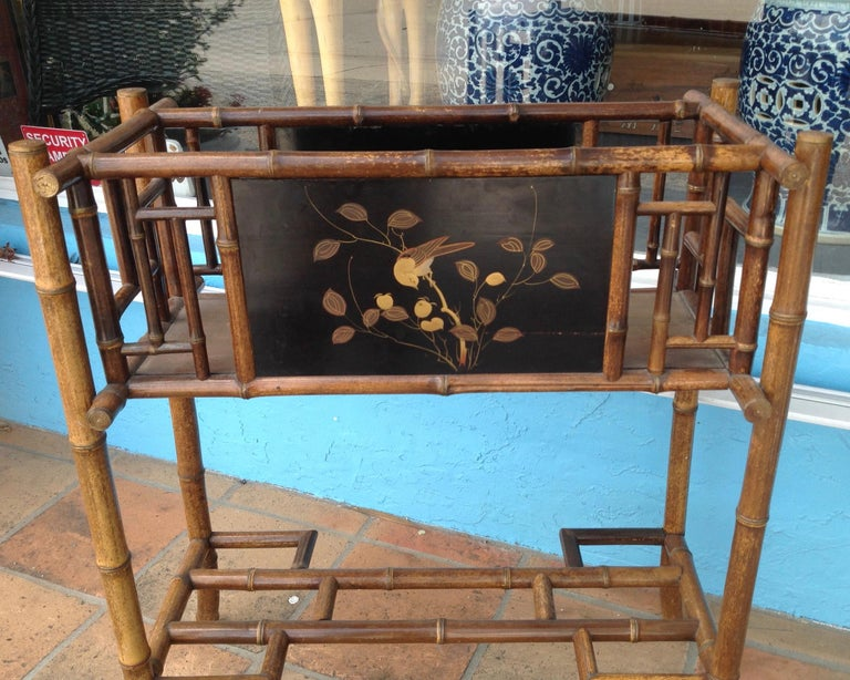 English Bamboo Planter For Sale 3