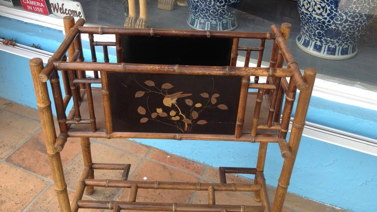 English Bamboo Planter For Sale 4