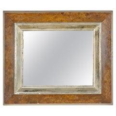 English Bird's-Eye Maple Frame with Mirror