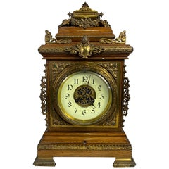 English Bracket Clock, 19th Century