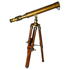 English Brass Telescope, 20th Century