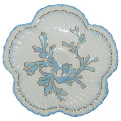 "English ""Brownfield Porcelain"" Oyster Plate Made for Tiffany & Co., circa 1890"