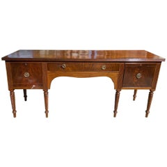 English Buffet George III Period Antique Sideboard