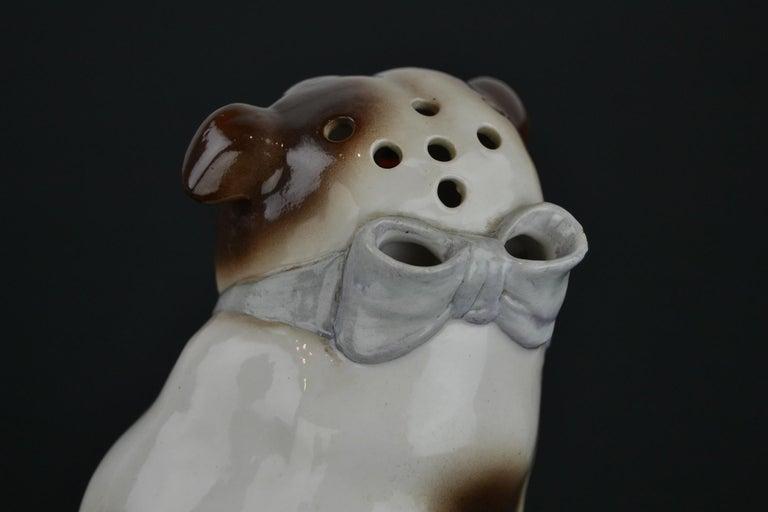 English Bulldog Perfume Lamp For Sale 4