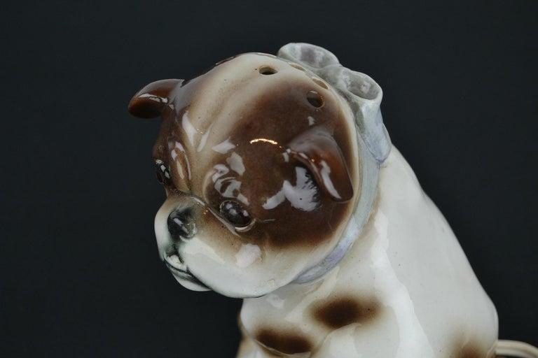 English Bulldog Perfume Lamp For Sale 7
