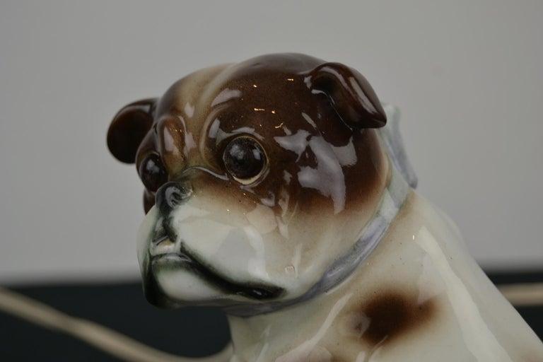 English Bulldog Perfume Lamp For Sale 11