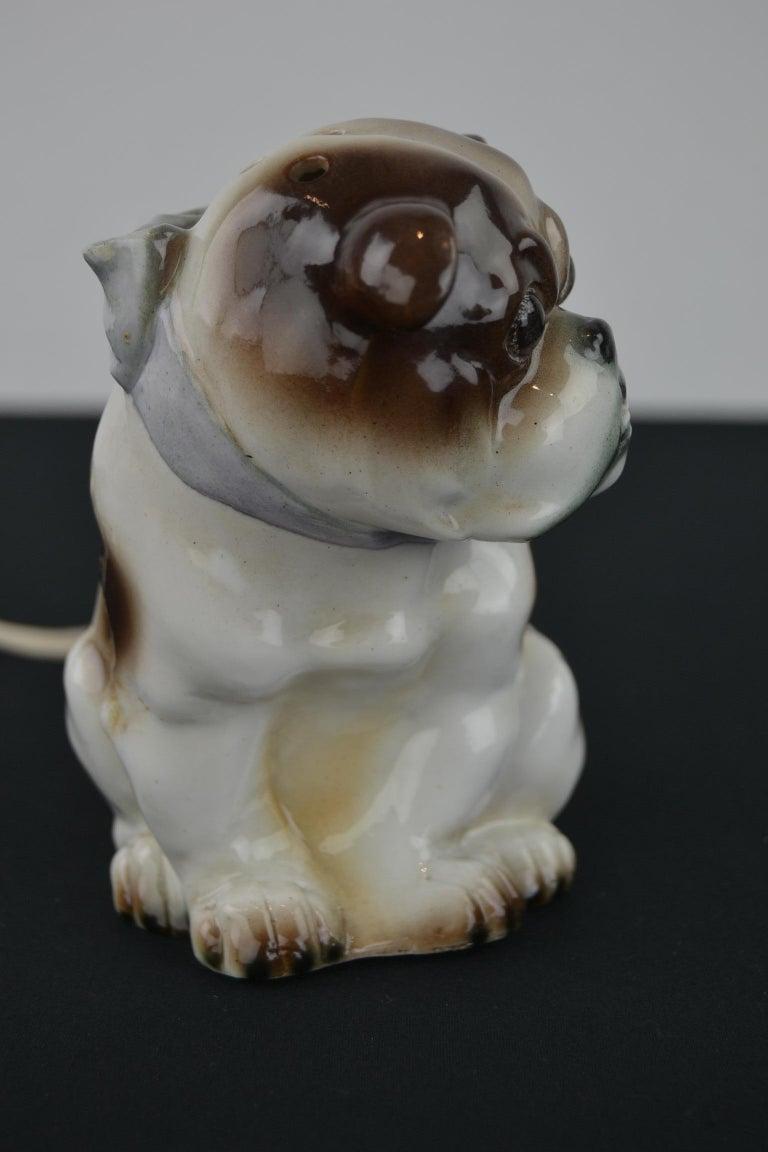 English Bulldog Perfume Lamp For Sale 2