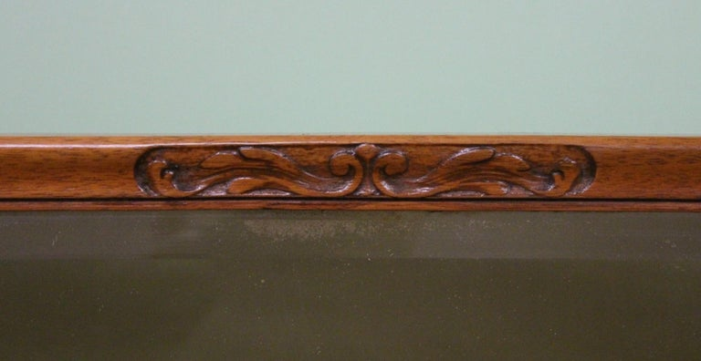 English Burr Walnut Dressing Table by Waring and Gillow For Sale 11