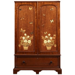 English Butterfly Collector's Cabinet