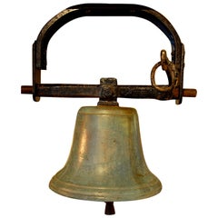 English Cast Bell Metal 19th Century Church Bell