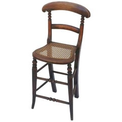 English Child's Correction Chair from the Georgian Era