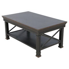 English Chinese Chippendale Style Wooden Coffee Table