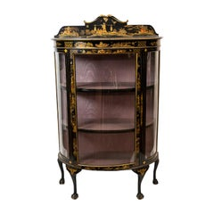 English Chinoiserie Display Case