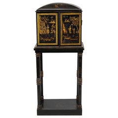 Chinoiserie Case Pieces and Storage Cabinets