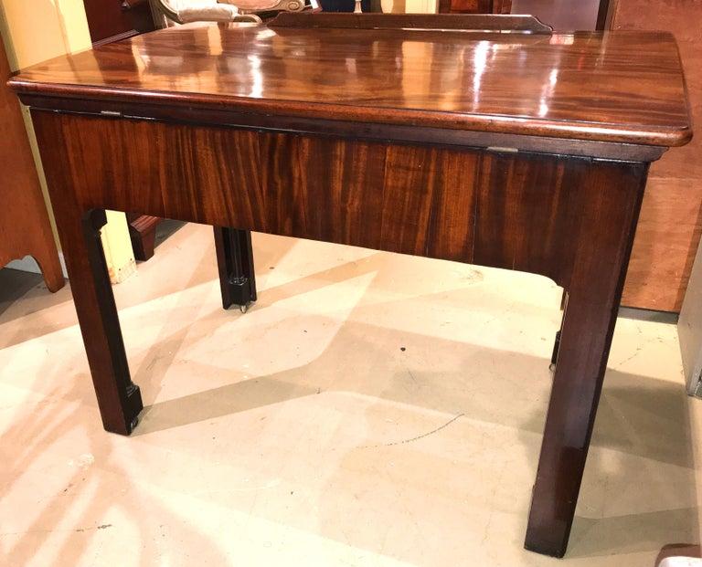 English Chippendale Mahogany Architect's Desk or Design Table, circa 1780 For Sale 4