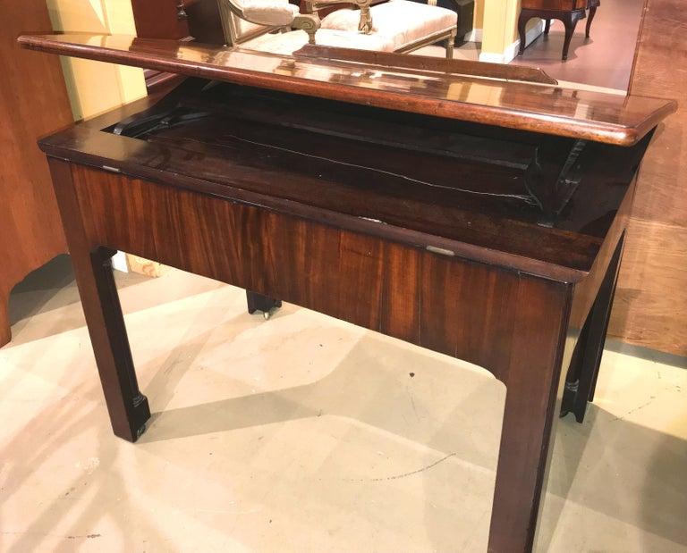 English Chippendale Mahogany Architect's Desk or Design Table, circa 1780 For Sale 5